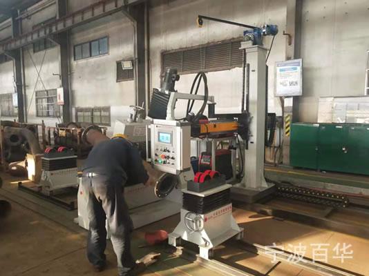 广东黄埔船厂管道加工 悬臂式管道自动焊机和多功能管道组对机