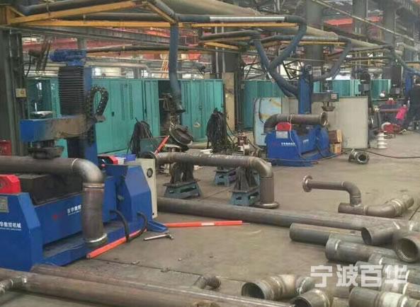 压辊式焊接变位机大连船舶 应用