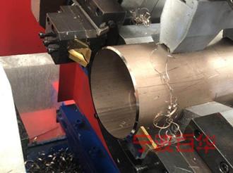 管道坡口机加工铜镍合金管