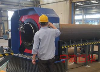 管道坡口机加工碳钢