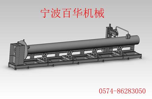 滚床式管道等离子自动切割机 结构