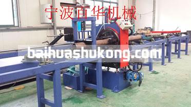 百华钢管机械切断坡口机设备