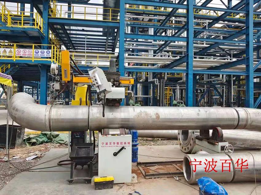 大型埋弧焊管道自动焊机不锈钢对接焊