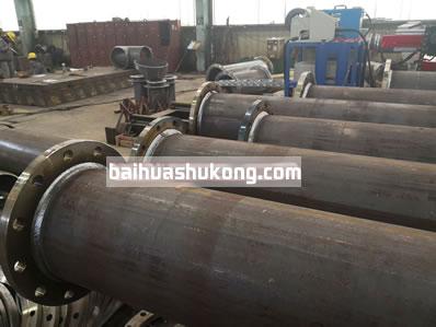 PFL系列中小管径直管法兰组焊管道预制生产线