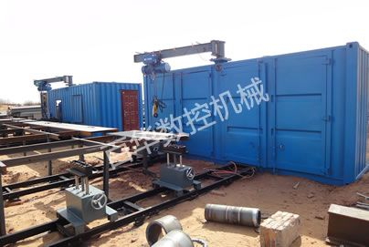 移动式管道自动组焊机工作站