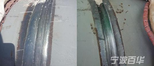 2019新重载压紧式管道自动焊机 焊接效果